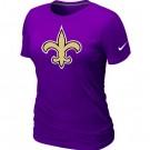 Women's New Orleans Saints Printed T Shirt 12156