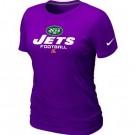 Women's New York Jets Printed T Shirt 12349