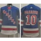 Women's New York Rangers #10 Artemi Panarin Blue Authentic Jersey