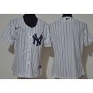 Women's New York Yankees Blank White 2020 Cool Base Jersey