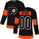 Women's Philadelphia Flyers Customized Black Alternate Authentic Jersey