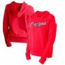 Women's Portland Trail Blazers Red City Pullover Hoodie