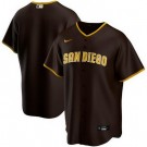 Women's San Diego Padres Customized Brown 2020 Cool Base Jersey