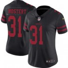 Women's San Francisco 49ers #31 Raheem Mostert Limited Black Vapor Untouchable Jersey
