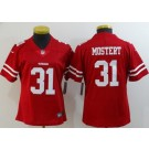 Women's San Francisco 49ers #31 Raheem Mostert Limited Red Vapor Untouchable Jersey