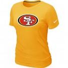 Women's San Francisco 49ers Printed T Shirt 12031