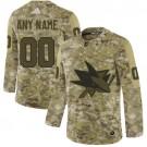 Women's San Jose Sharks Customized Camo Authentic Jersey