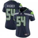 Women's Seattle Seahawks #54 Bobby Wagner Limited Navy Vapor Untouchable Jersey