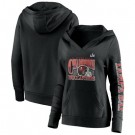 Women's Tampa Bay Buccaneers Black 2021 Super Bowl LV Champions Pullover Hoodie 210331