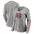 Women's Tampa Bay Buccaneers Gray 2021 Super Bowl LV Champions Printed T-Shirt 210391