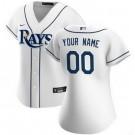 Women's Tampa Bay Rays CustomizedWhite 2020 Cool Base Jersey