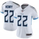 Women's Tennessee Titans #22 Derrick Henry Limited White Vapor Untouchable Jersey