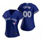 Women's Toronto Blue Jays Customized Royal 2020 Cool Base Jersey