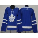 Women's Toronto Maple Leafs Blank Blue Jersey