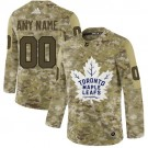 Women's Toronto Maple Leafs Customized Camo Fashion Authentic Jersey