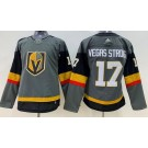 Women's Vegas Golden Knights #17 Vegas Strong Gray Jersey