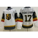 Women's Vegas Golden Knights #17 Vegas Strong White Jersey