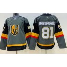 Women's Vegas Golden Knights #81 Jonathan Marchessault Gray Jersey