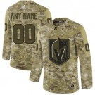 Women's Vegas Golden Knights Customized Camo Authentic Jersey