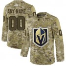 Women's Vegas Golden Knights Customized Camo Fashion Authentic Jersey