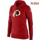Women's Washington Redskins Printed Hoodie 3205
