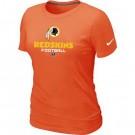 Women's Washington Redskins Printed T Shirt 12138