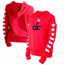 Women's Washington Wizards Red City Pullover Hoodie