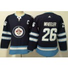 Women's Winnipeg Jets #26 Blake Wheeler Navy Jersey