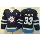 Women's Winnipeg Jets #33 Dustin Byfuglien Navy Jersey
