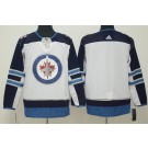Women's Winnipeg Jets Customized White Authentic Jersey