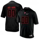 Youth Alabama Crimson Tide Customized Black College Football Jersey