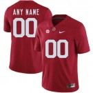 Youth Alabama Crimson Tide Customized Red Rush 2017 College Football Jersey