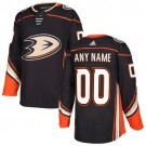 Youth Anaheim Ducks Customized Black Authentic Jersey
