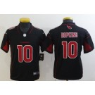 Youth Arizona Cardinals #10 DeAndre Hopkins Limited Black Rush Color Jersey