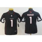 Youth Arizona Cardinals #1 Kyler Murray Limited Black Vapor Untouchable Jersey