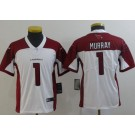 Youth Arizona Cardinals #1 Kyler Murray Limited White Vapor Untouchable Jersey