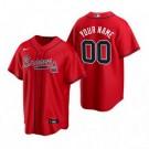 Youth Atlanta Braves Customized Red Alternate 2020 Cool Base Jersey