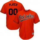 Youth Baltimore Orioles Customized Orange Cool Base Jersey