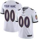 Youth Baltimore Ravens Customized Limited White Vapor Untouchable Jersey