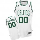Youth Boston Celtics Customized White Swingman Adidas Jersey
