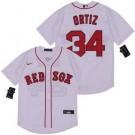 Youth Boston Red Sox #34 David Ortiz White 2020 Cool Base Jersey