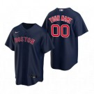 Youth Boston Red Sox Customized Navy Alternate 2020 Cool Base Jersey