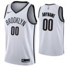 Youth Brooklyn Nets Customized White Icon Swingman Nike Jersey