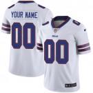 Youth Buffalo Bills Customized Limited White Vapor Untouchable Jersey