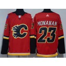 Youth Calgary Flames #23 Sean Monahan Red Jersey