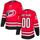 Youth Carolina Hurricanes Customized Red Authentic Jersey