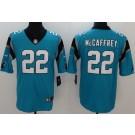 Youth Carolina Panthers #22 Christian McCaffrey Limited Blue Vapor Untouchable Jersey