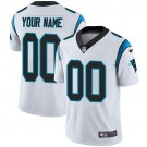 Youth Carolina Panthers Customized Limited White Vapor Untouchable Jersey