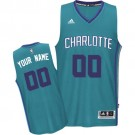 Youth Charlotte Hornets Customized Green Swingman Adidas Jersey