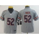 Youth Chicago Bears #52 Khalil Mack Limited Gray Inverted Vapor Untouchable Jersey